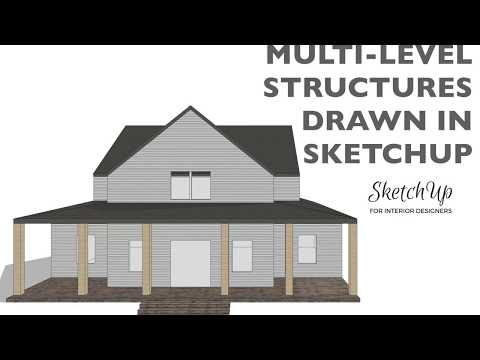 Drawing Multi-Level Structures in SketchUp
