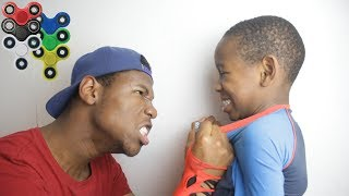 Download Kid Spends $1000 on brother's credit card to buy fidget spinners **PRANK!** (BACKFIRES) Video