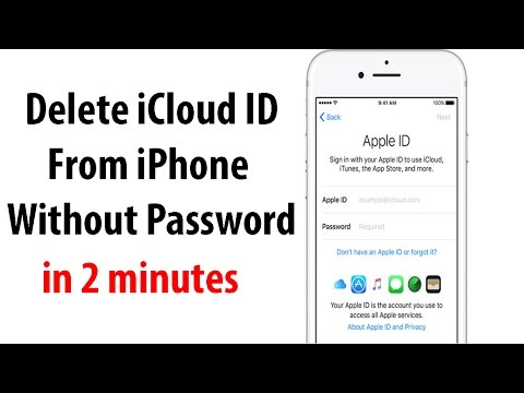 Remove iCloud Apple ID from iPhone  without password iOS 10+