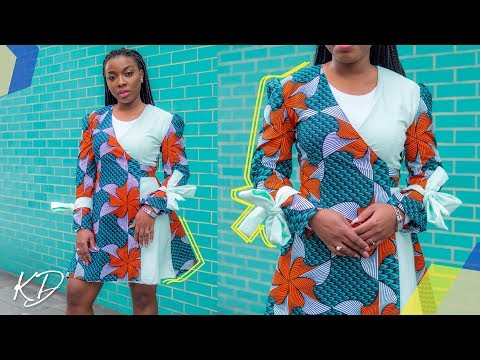 HOW TO: SEW A WRAP DRESS | KIM DAVE