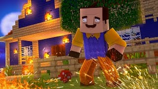Minecraft HELLO NEIGHBOR ROLEPLAY! - DID THAT REALLY JUST HAPPEN?! (Minecraft Roleplay)