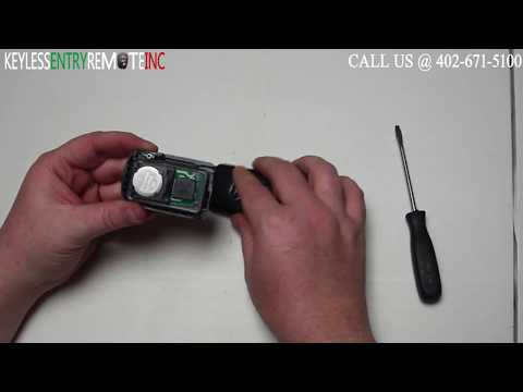 How To Replace Toyota Highlander Key Fob Battery 2014 2015