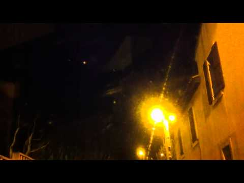 strange light over the sky filmed by iphone4  location south france