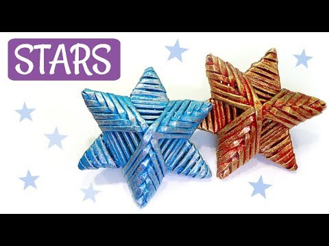DIY HOW TO MAKE EASY PAPER STARS