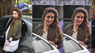 Kareena Kapoor BIG Baby Bump Show During Photoshoot