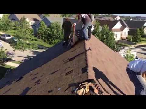 How to Remove Old Roof Shingles (Real Crew Working in Chicago) (630) 655-8256