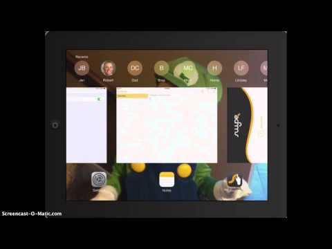Using Swype Keyboard App on iPad