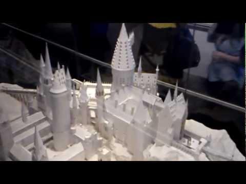 Paper model of Hogwarts