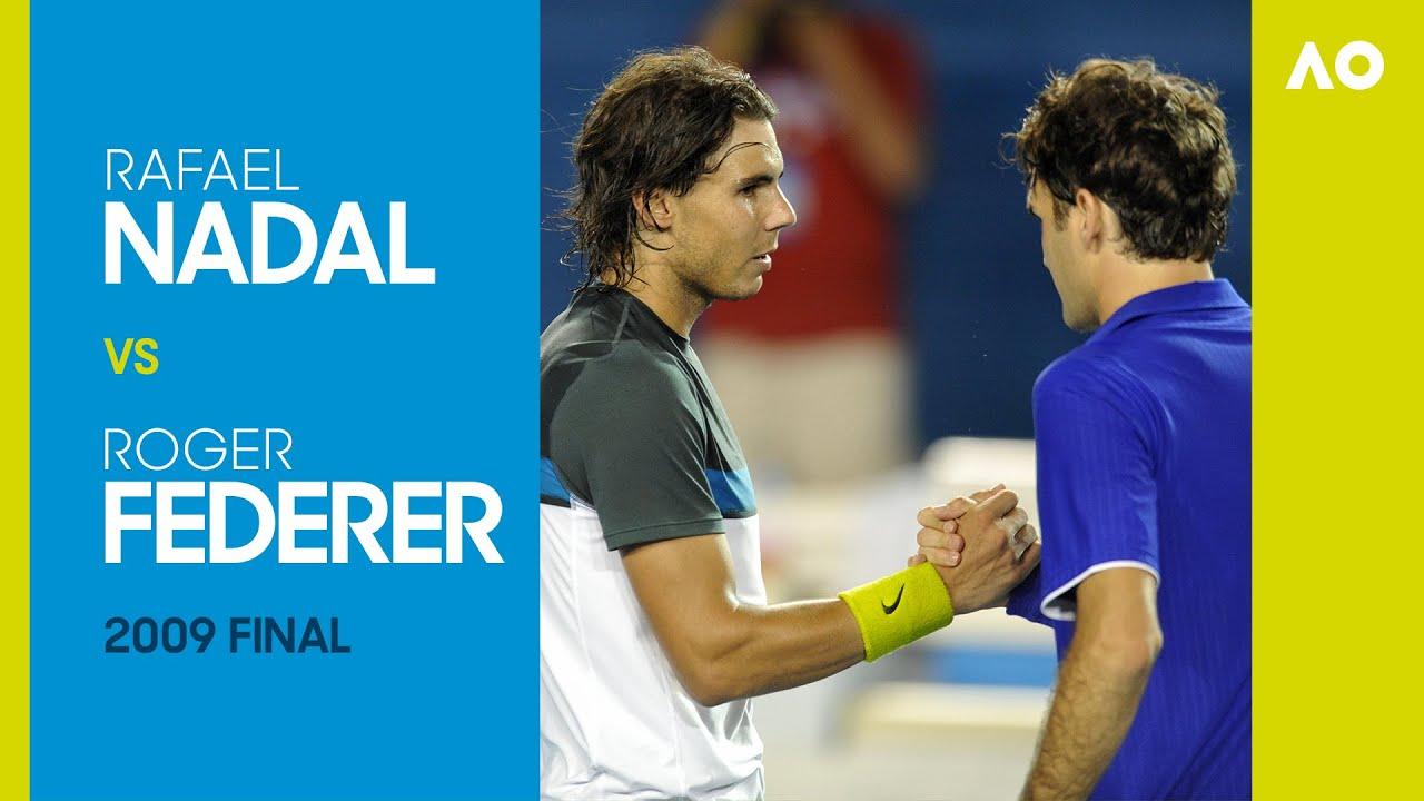 Rafael Nadal v Roger Federer - Australian Open 2009 Final | AO Classics