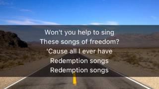 Redemption Song - Bob Marley / Lyrics