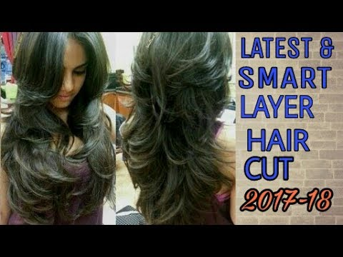 Long Layered Hair cuts|Haircut Trends | Popular in 2017-18| Long Layered Haircut|College Haircut|