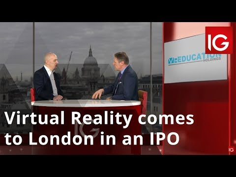 Virtual Reality comes to London in an IPO