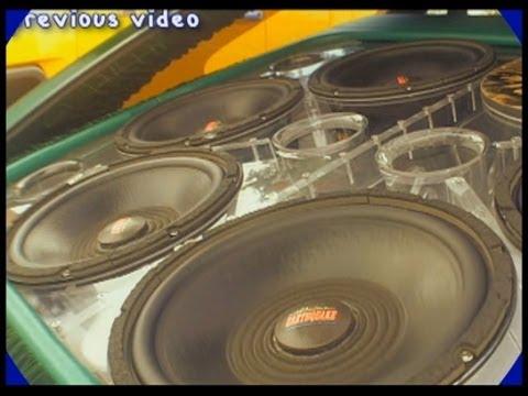 PLEXIGLASS Subwoofer Box w/ Insane Earthquake Car Audio System | 12