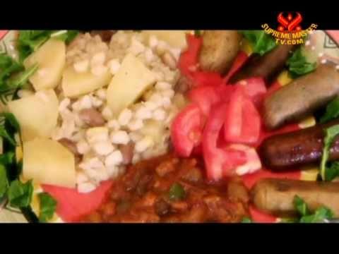Setswana Samp and Brown Sugar Beans with Vegan Sausage (In Setswana)