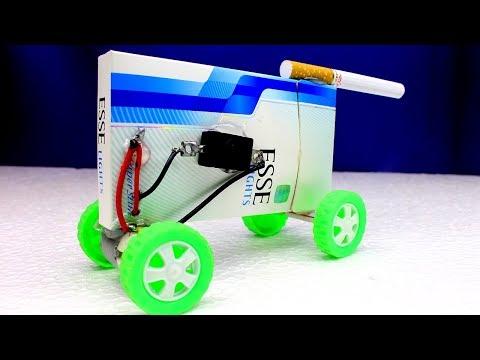 How To Make a Electric Toy Car Using Esse  Lights Box - Esse Light Box Car - mine car at home