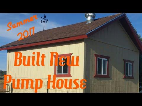 New Pump House Build Summer 2017