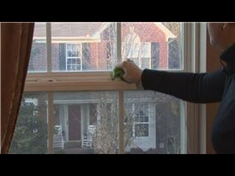 House Cleaning & Stain Removal : How to Wash Vinyl Windows