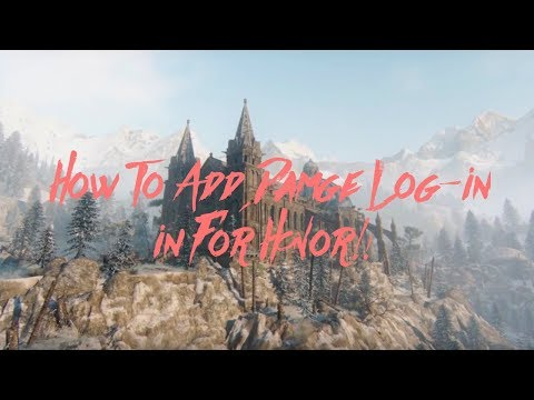 How To Add Damage Log-In In For Honor