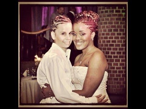 Lesbian Couple: Lesbian Wedding in New York City