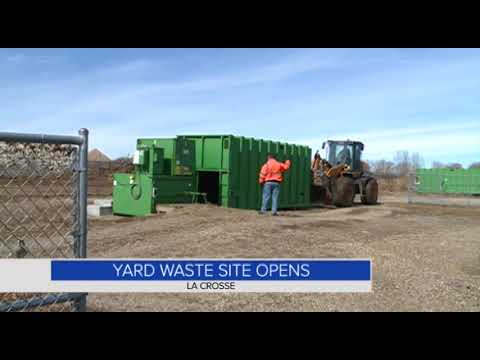 Yard waste site opens