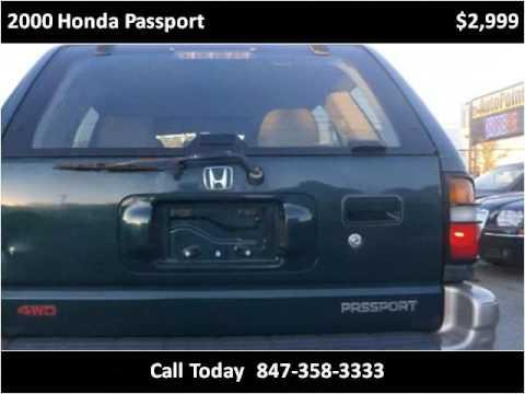 2000 Honda Passport Used Cars Palatine IL