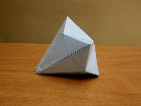 How to Make a Paper Kohinoor Diamond - Easy Tutorials