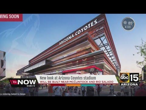 Arizona Coyotes building new stadium in Tempe