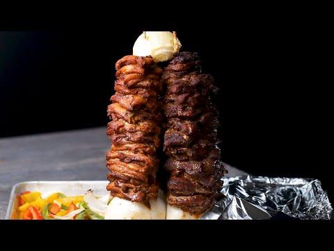 3-Way Fajita Party Kebab