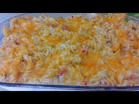 Cheesy Chicken Bacon Ranch Casserole RECIPE | ThickChickCooks