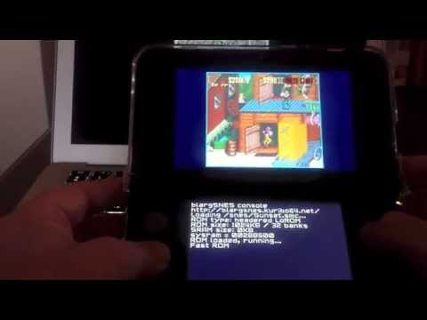 Nintendo 3DS NinjHax - Snes Emulator Sunset riders !!! (no gateway or mt card)