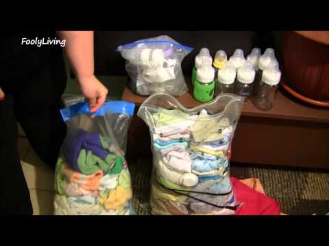 Organize: Long Term Storage for Baby Clothes and Items