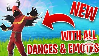 Fortnite Cloaked Shadow Skin 115 Emotes Punchnshoot Video
