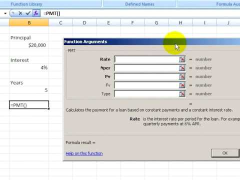 Excel 2007 Tutorial 3.1. Using Functions
