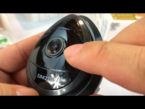 DMZOK Security Wireless WiFi, Motion Detection, Home Monitoring with Microphone Camera review