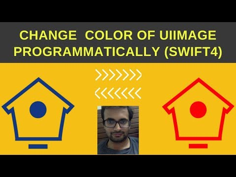 Swift Tutorial: Change color of image(UIImage) in swift4 programmatically