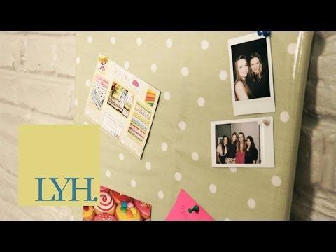 Oilcloth Notice Board: Made At Home S01E4/8