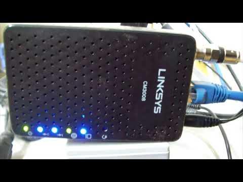 Linksys CM3008 DOCSIS 3.0 Cable Modem Review