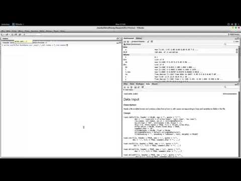 Reading from, and Writing to CSV files in R
