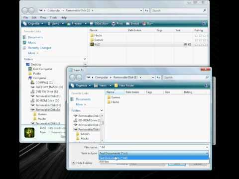 how to change a usb icon using an autorun.inf file