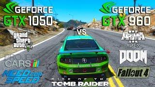 GTX 1050 vs GTX 960 Test in 7 Games (i3 6100)