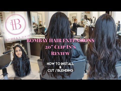 Affordable Hair Extentions That Are GREAT Quality | BOMBAY CLIP-IN HAIR EXTENSIONS REVIEW & more