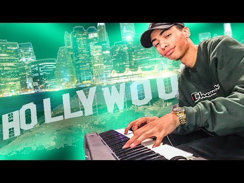 MAKING BEAT FROM SCRATCH IN LA!!! (Cooking Up In Los Angeles)