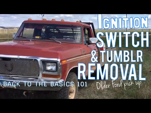 Ford ignition & Tumblr removal 1968-1976