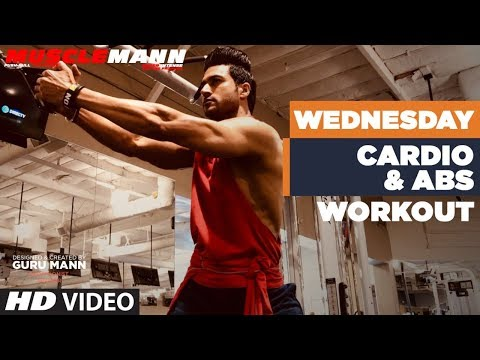 Wednesday/Saturday - Cardio & Abs | MUSCLEMANN - Super Intense Cutting program by Guru Mann