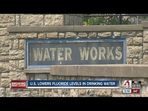 United States lowers fluoride levels in drinking water