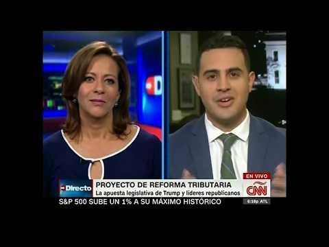 The LIBRE Initiative Talks Benefits of Tax Reform on CNN Español