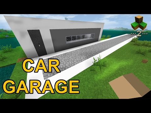 CAR GARAGE -  Survivalcraft 2 | Survivalcraft Piston | Survivalcraft CAR