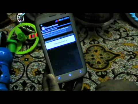 how to install clockworkmod cwm recovery on micromax a110