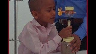 Google Boy Kautilya Pandit visits Yashica Science Exhibition