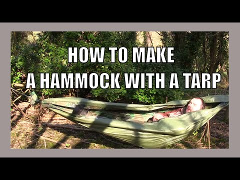 How To Make A Hammock From A Tarp